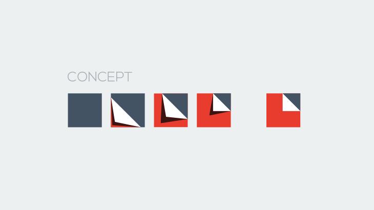 Concept de l'identité visuelle d'Interimages