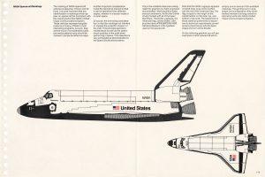 Utilisation du logo Ver sur la navette spatiale