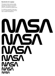 Appropriate use of the NASA logotype