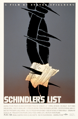 Affiche du film La Liste de Schindler
