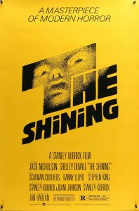 Affiche du film Shining (premier poster)
