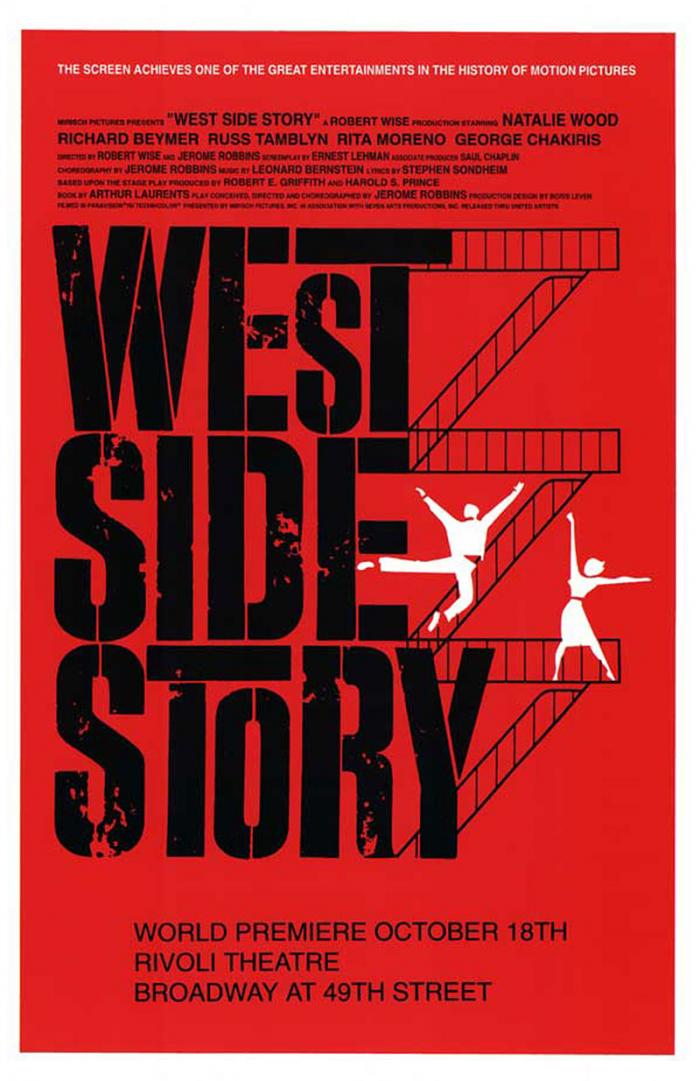 Affiche du film West Side Story
