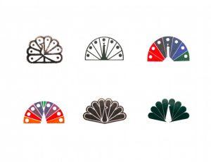 Croquis logo NBC